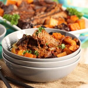 Pot Roast with Butternut Squash and Dried Plums | The Suburban Soapbox