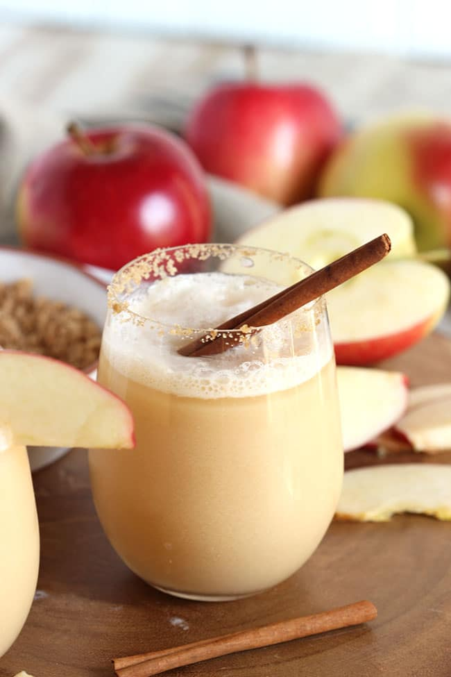 Apple Cider Gin Fizz | The Suburban Soapbox