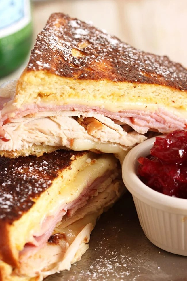 Monte Cristo Sandwich with Cranberry Jam | The Suburban Soapbox