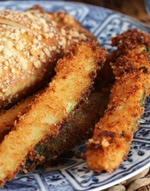 Parmesan Crusted Zucchini Fries | TheSuburbanSoapbox.com #BetterBakery