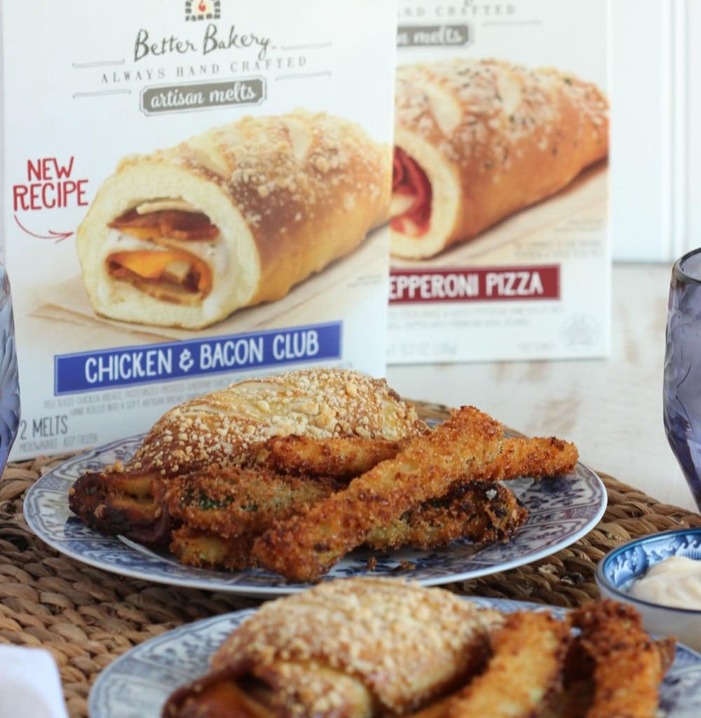 Parmesan Crusted Zucchini Fries   TheSuburbanSoapbox.com #BetterBakery
