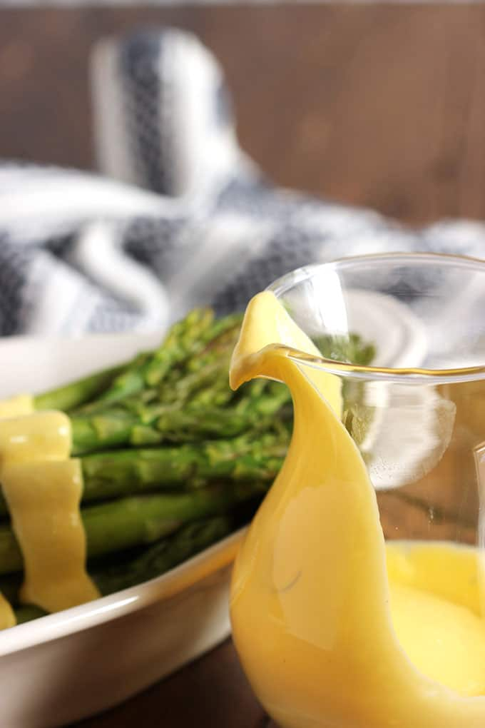 Blender Hollandaise Sauce | TheSuburbanSoapbox.com