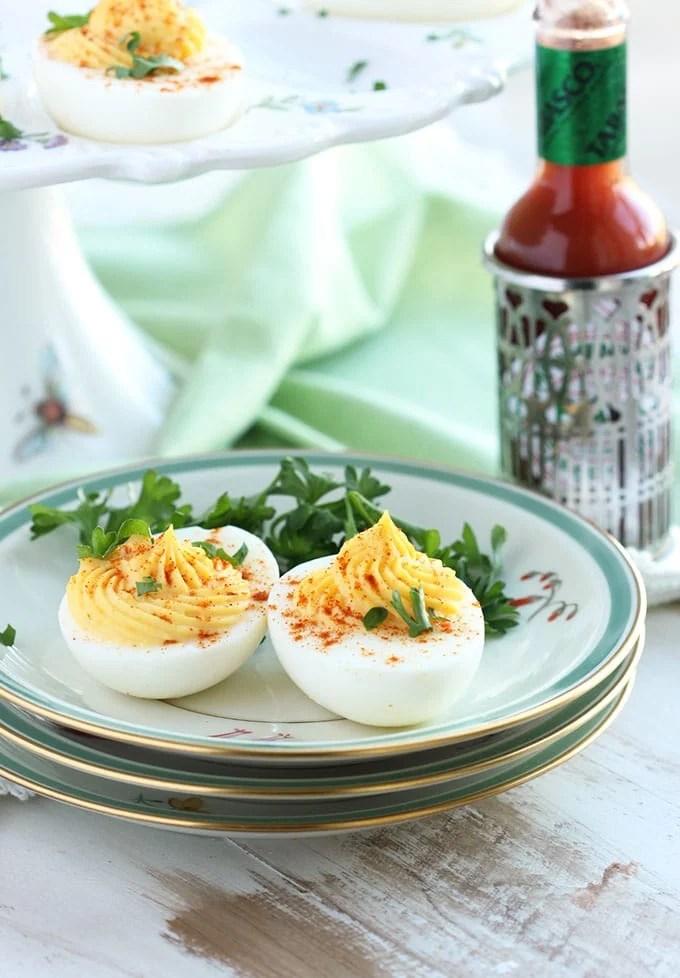 The Very Best Deviled Eggs   TheSuburbanSoapbox.com