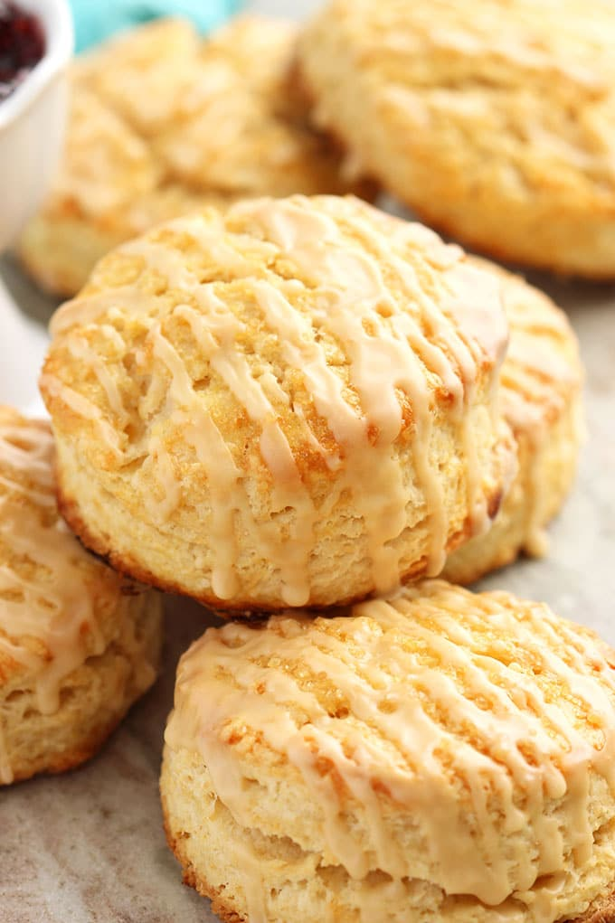 Bailey's Irish Cream Scones | TheSuburbanSoapbox.com