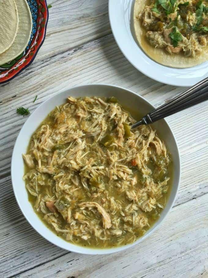 Slow-Cooker-Salsa-Verde-Chicken-Tacos-A Cedar Spoon