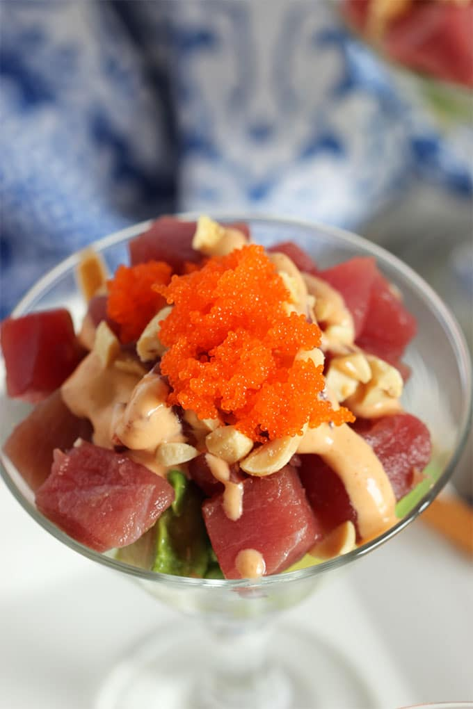 Spicy Tuna Sundaes | TheSuburbanSoapbox.com