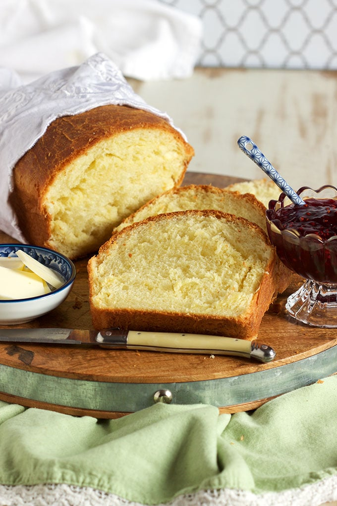 The Very BEST Brioche recipe ever, buttery, sweet and sensational. Perfect for brunch! | TheSuburbanSoapbox.com