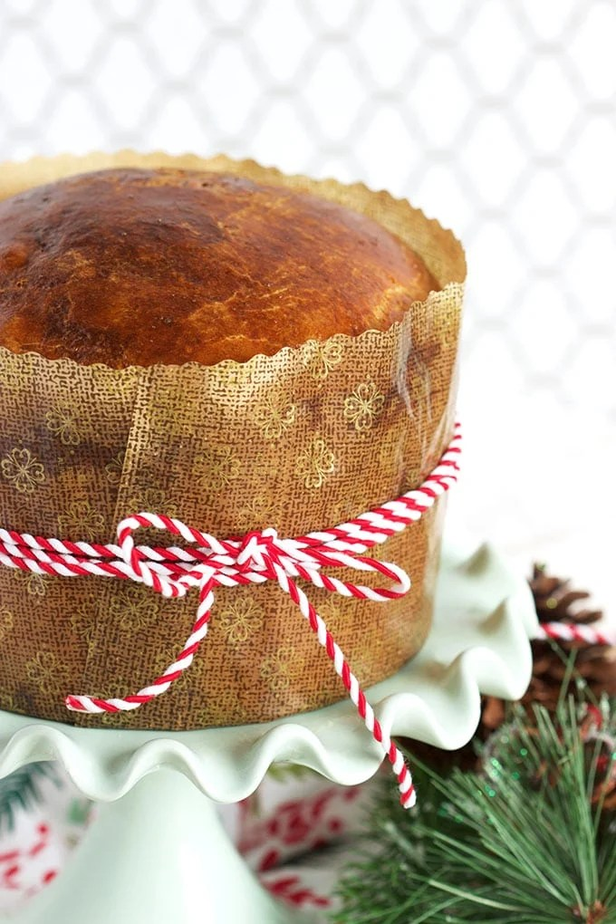Super easy to make Pannetone Recipe is the perfect addition to any holiday gathering. | TheSuburbanSoapbox.com
