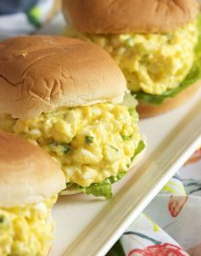 Super easy to make, this is the Very Best Egg Salad recipe. Perfect every time. | Thesuburbansoapbox.com