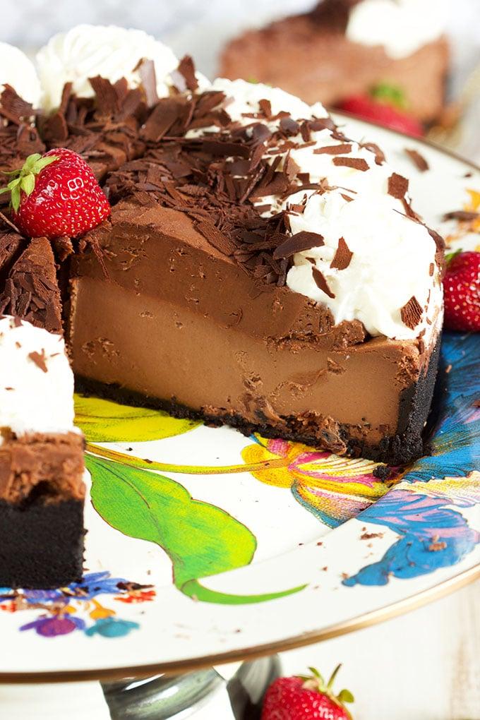 Cheesecake Factory Chocolate Mousse Cheesecake | TheSuburbanSoapbox.com National Cheesecake Day