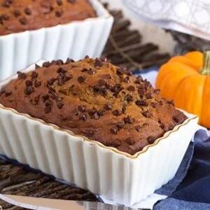 Chocolate Chip Pumpkin Bread | TheSuburbanSoapbox.com