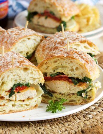Italian Chicken Cutlet Sandwiches | TheSuburbanSoapbox.com