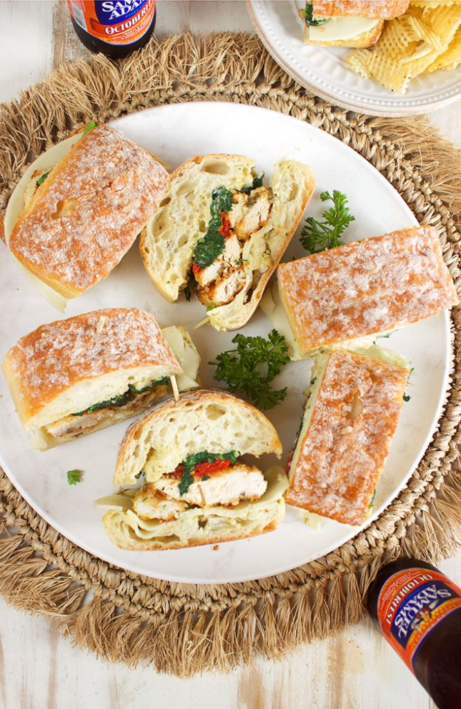 Italian Chicken Cutlet Sandwiches | TheSuburbanSoapbox.com