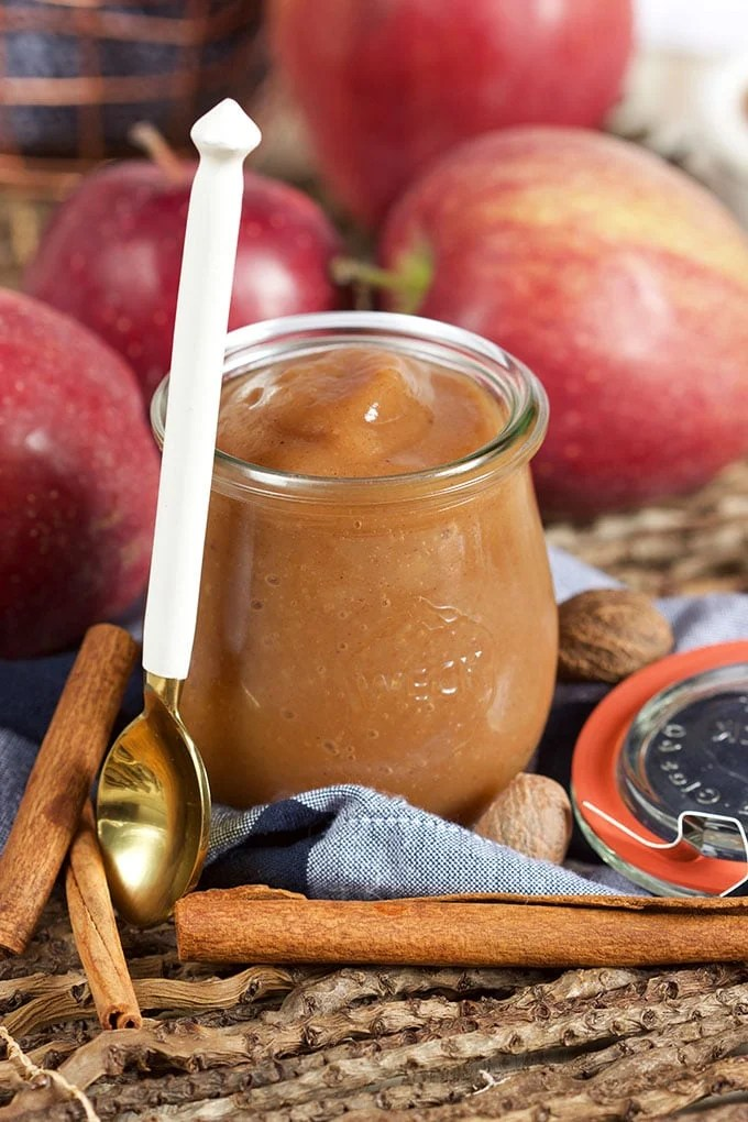 The Very Best Slow Cooker Apple Butter Recipe | TheSuburbanSoapbox.com