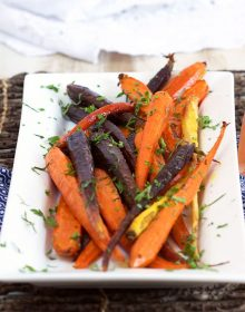 Honey Roasted Carrots with Tarragon | ThesuburbanSoapbox.com