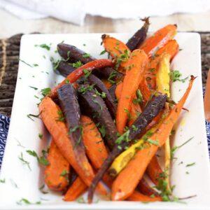 Honey Roasted Carrots with Tarragon   ThesuburbanSoapbox.com