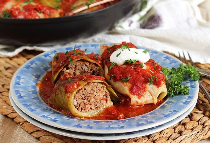 How to make the BEST Stuffed Cabbage Rolls | TheSuburbanSoapbox.com