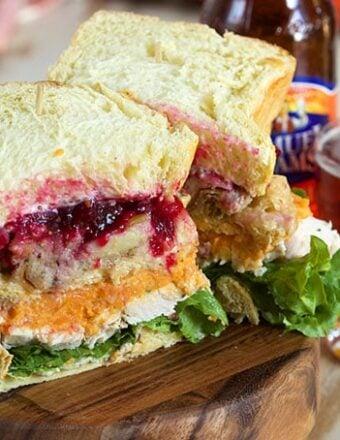 Ross Geller's Thanksgiving Leftover Turkey Sandwich   TheSuburbanSoapbox.com