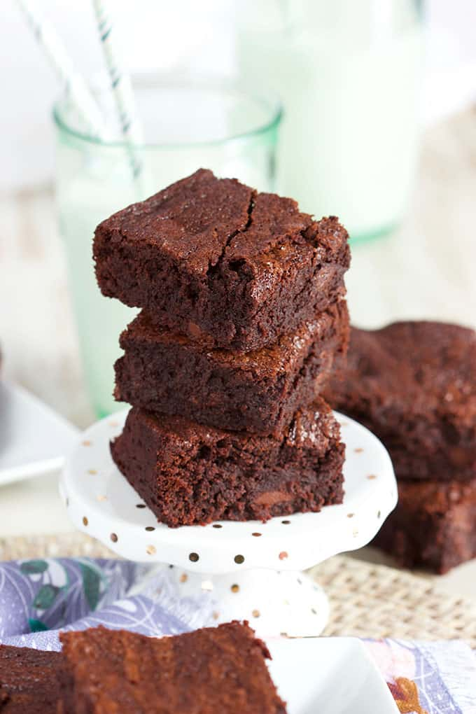 The Very Best Brownies Recipe from Scratch | TheSuburbanSoapbox.com