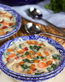 Creamy Chicken and Wild Rice Soup Recipe | TheSuburbanSoapbox.com