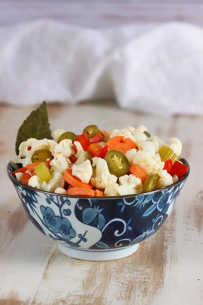 How to Make Quick Hot Giardiniera Recipe | TheSuburbanSoapbox.com