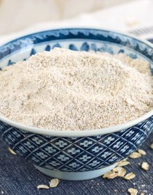 How to Make Homemade Oat Flour | ThesuburbanSoapbox.com