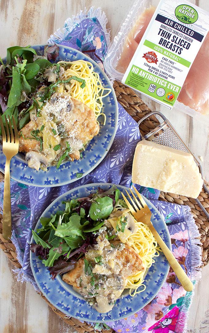 Creamy Chicken Piccata Recipe | TheSuburbanSoapbox.com