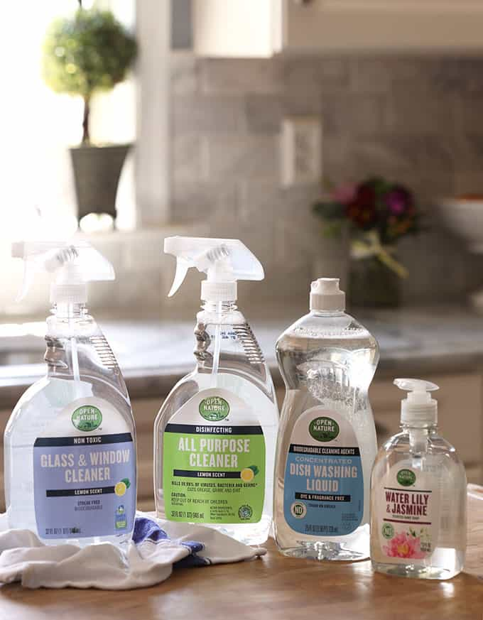 ACME Markets Open Nature Cleaning Products