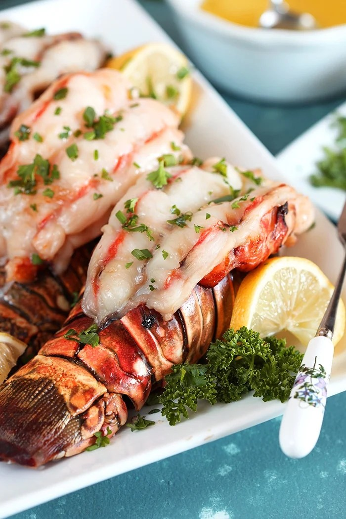 how to broil 4 oz lobster tails