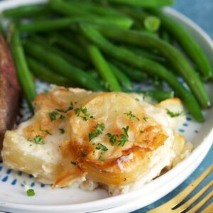 BEST Homemade Scalloped Potatoes Recipe | TheSuburbansoapbox.com