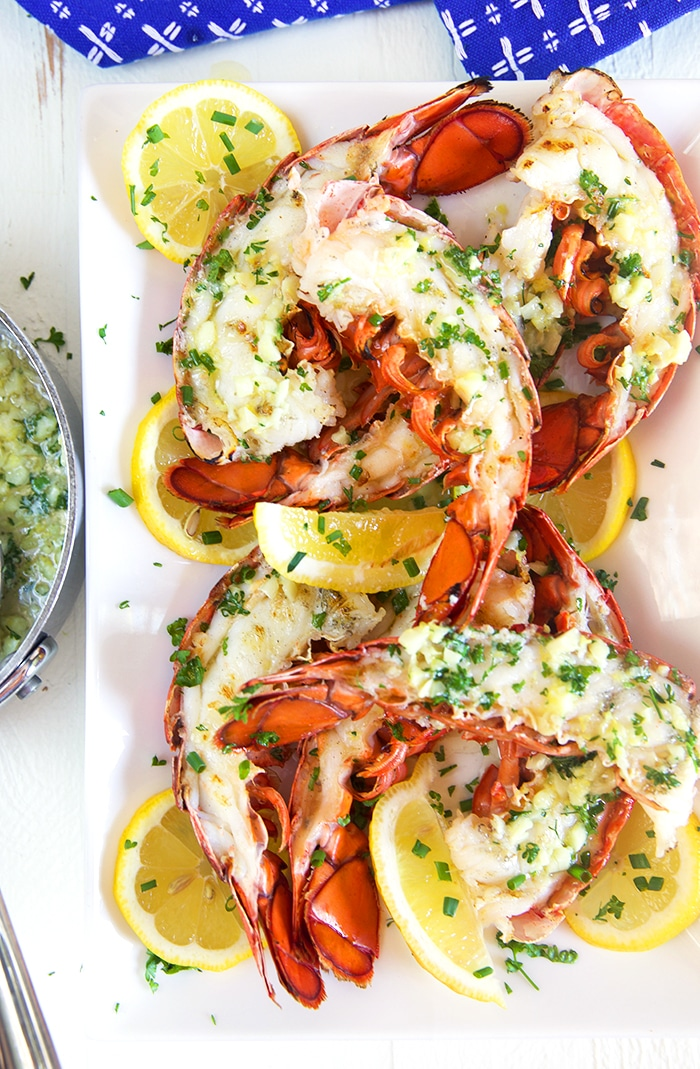The Very Best Grilled Lobster Tail Recipe The Suburban Soapbox