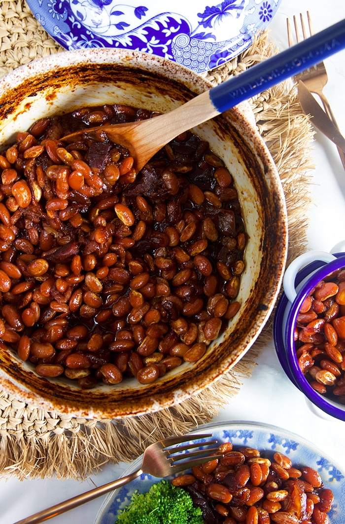 The Very Best Boston Baked Beans Recipe The Suburban Soapbox