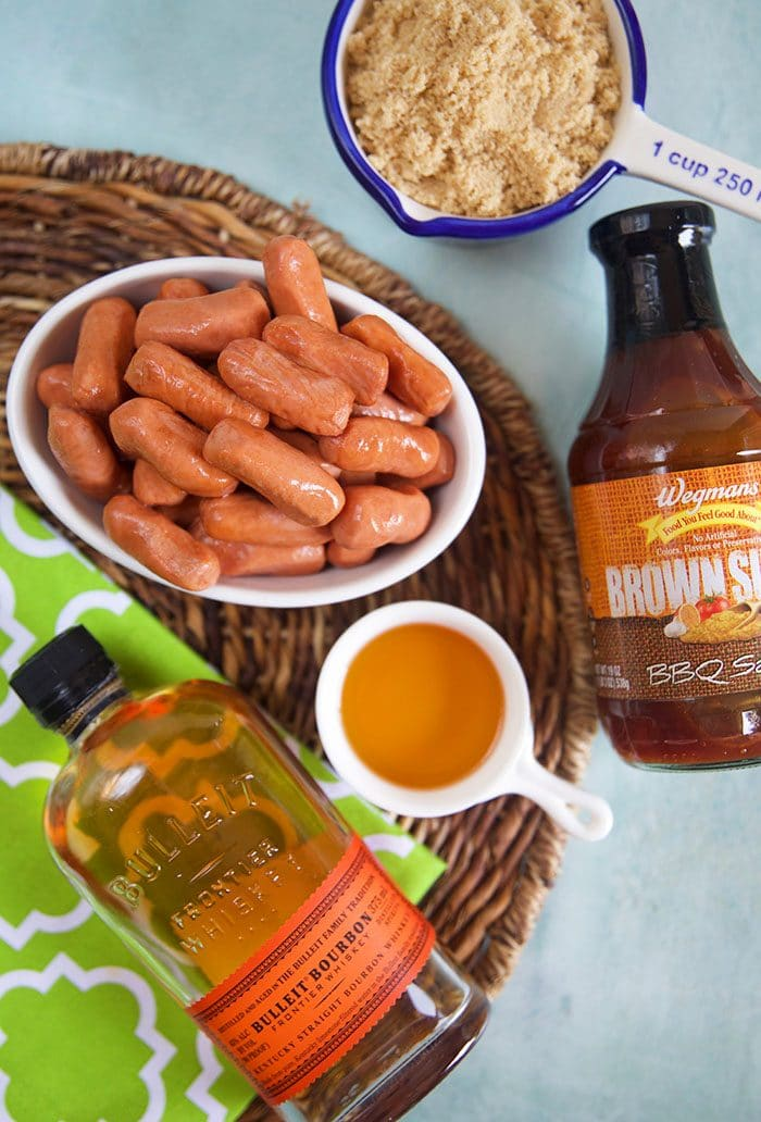 Ingredients for Bourbon BBQ Little Smokies recipe