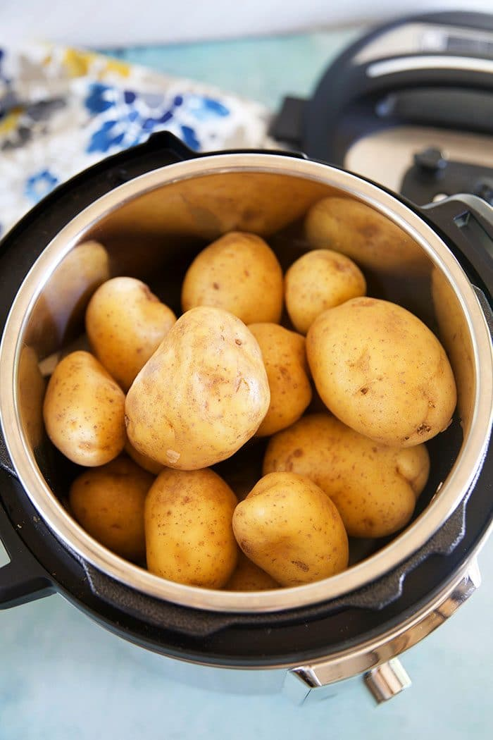 Potatoes in an Instant Pot.