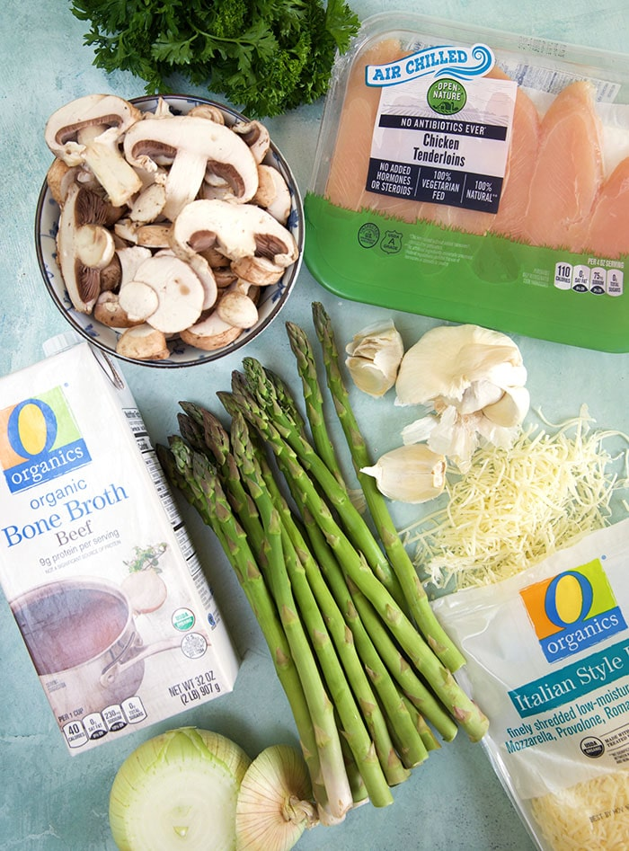 Ingredients for Chicken Madeira