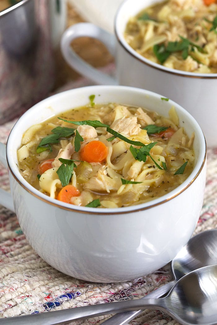 rotisserie chicken noodle soup  the suburban soapbox