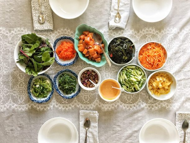Poke Bowl Dinner Party | The Subversive Table