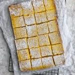 Not-Too-Sweet Meyer Lemon Bars   The Subversive Table