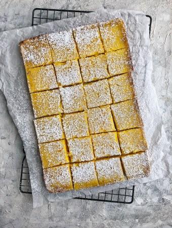 Not-Too-Sweet Meyer Lemon Bars | The Subversive Table