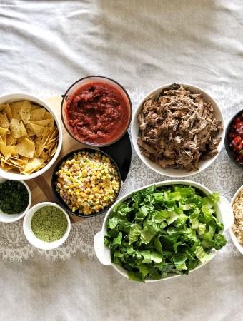 DIY Burrito BowlParty | The Subversive Table
