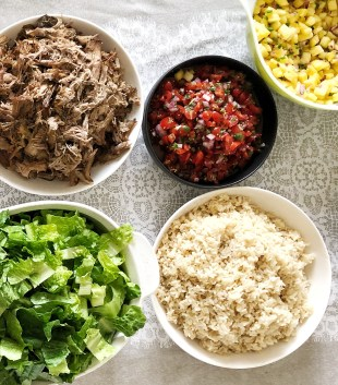 DIY Burrito Bowl Party | The Subversive Table