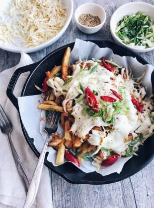 kimchi cheese fries
