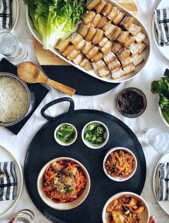 Bo ssam, Korean Pork Belly