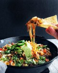 Kimchi Queso Cheese Dip