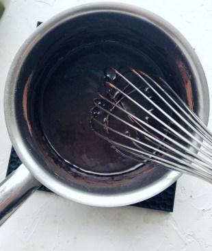 Dark Chocolate granola, wet ingredients