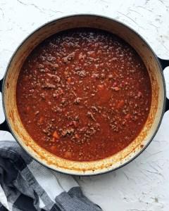 Basic Chili - long simmer