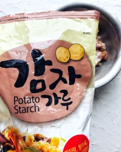 Potato Starch, Korean ingredient