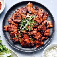 Spicy Pork Belly Bulgogi