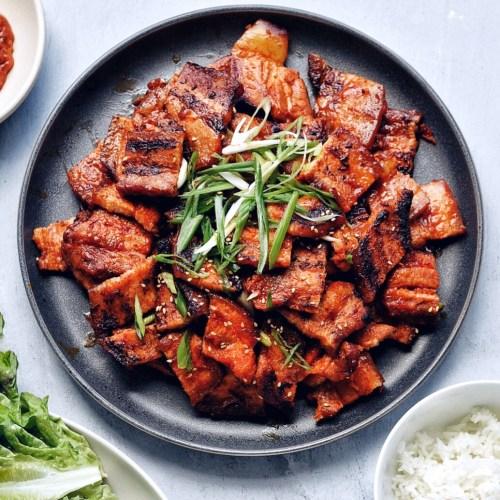 Spicy Pork Belly Bulgogi