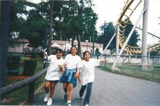 1999 - Scholars enjoy a well-deserved field trip